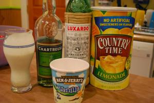Boozy Milkshake (Recipe # 1) – Citrus &Chartreuse