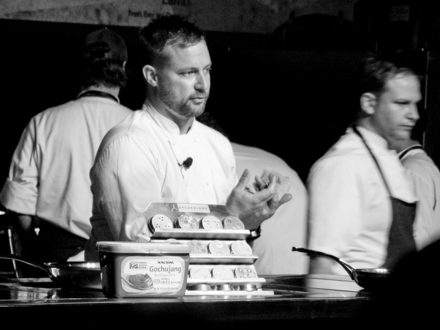 chef Bryan voltaggio at starchefs icc 2013
