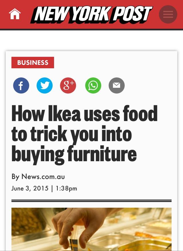 Ikea Trick