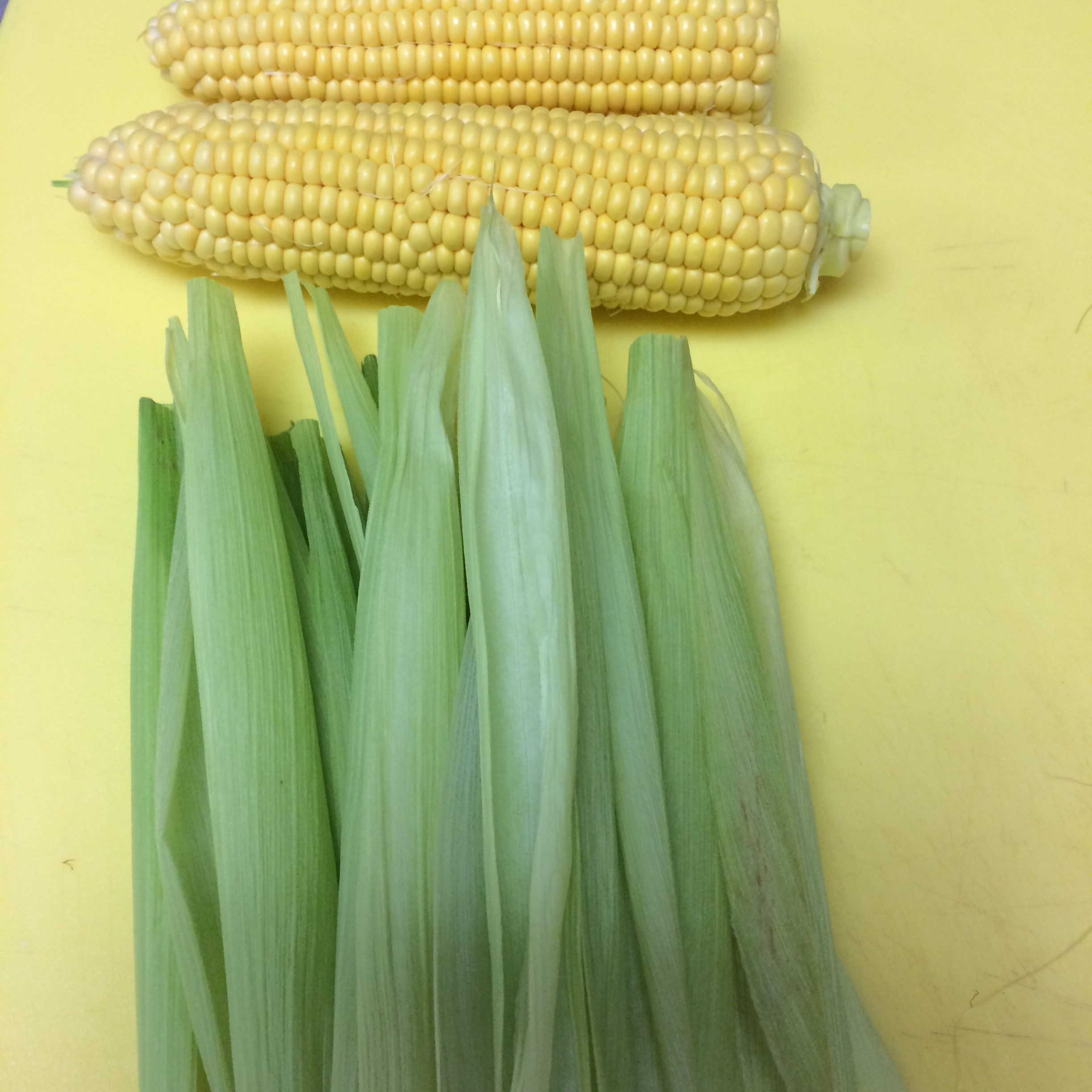 Corn and Corn Husks