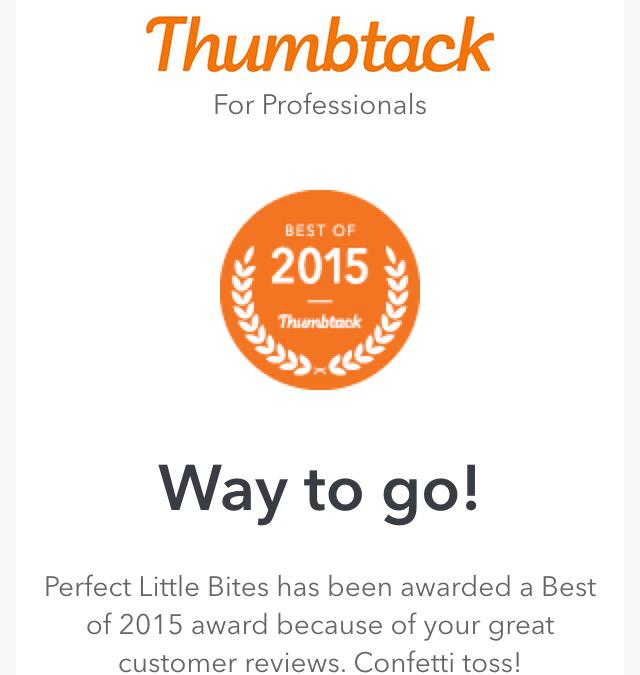 Thumbtack- Best of 2015Winner