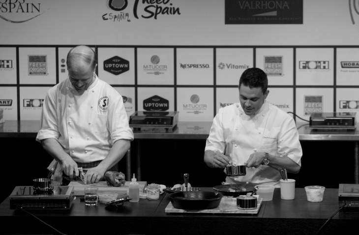 Chef Gavin Kaysen at Starchefs ICC 2015