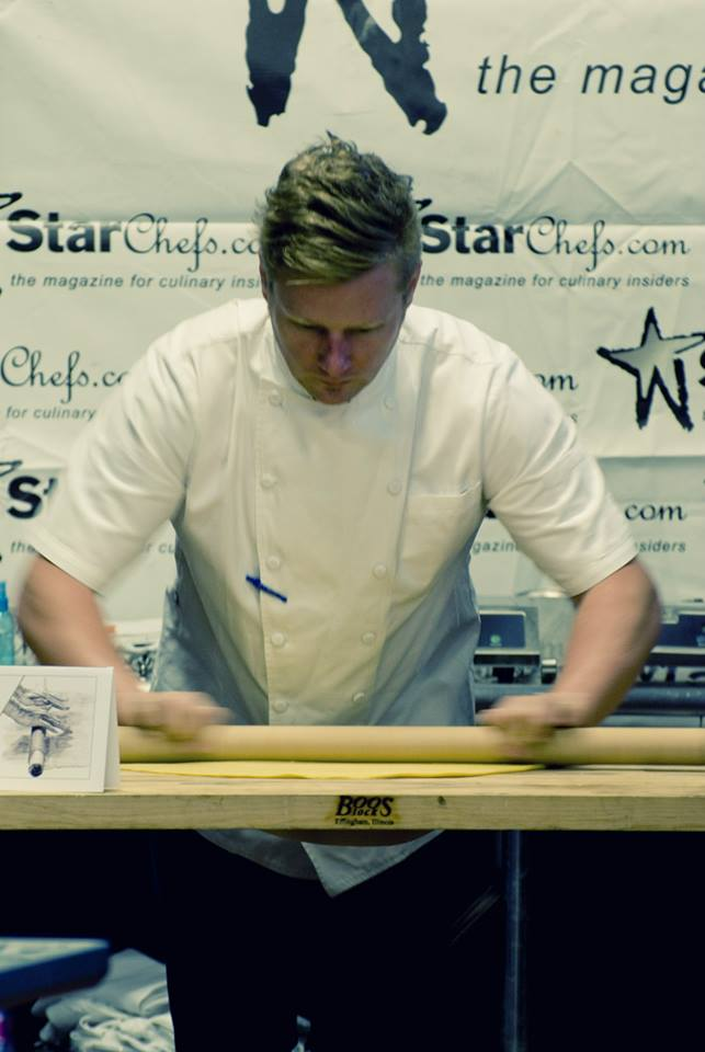 Chef Thomas McNaughton at StarChefs ICC 2014