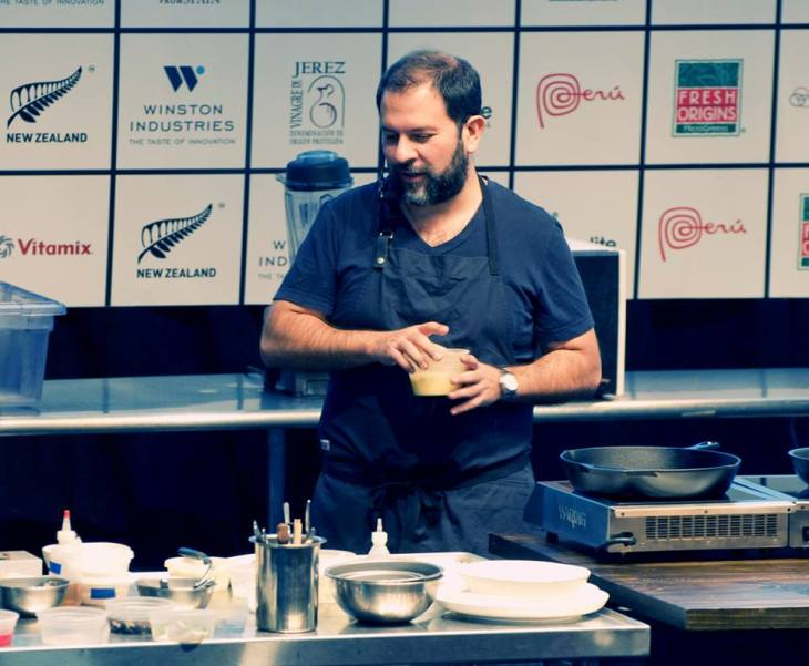 Chef Enrique Olvera at StarChefs ICC 2014