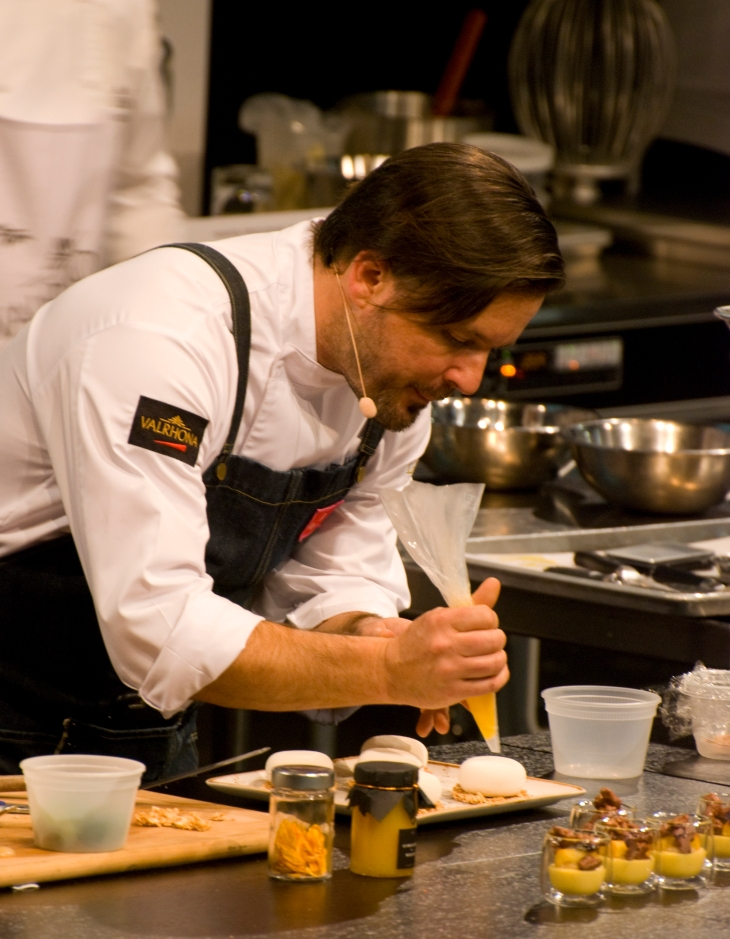 Chef William Werner at Starchefs ICC 2015