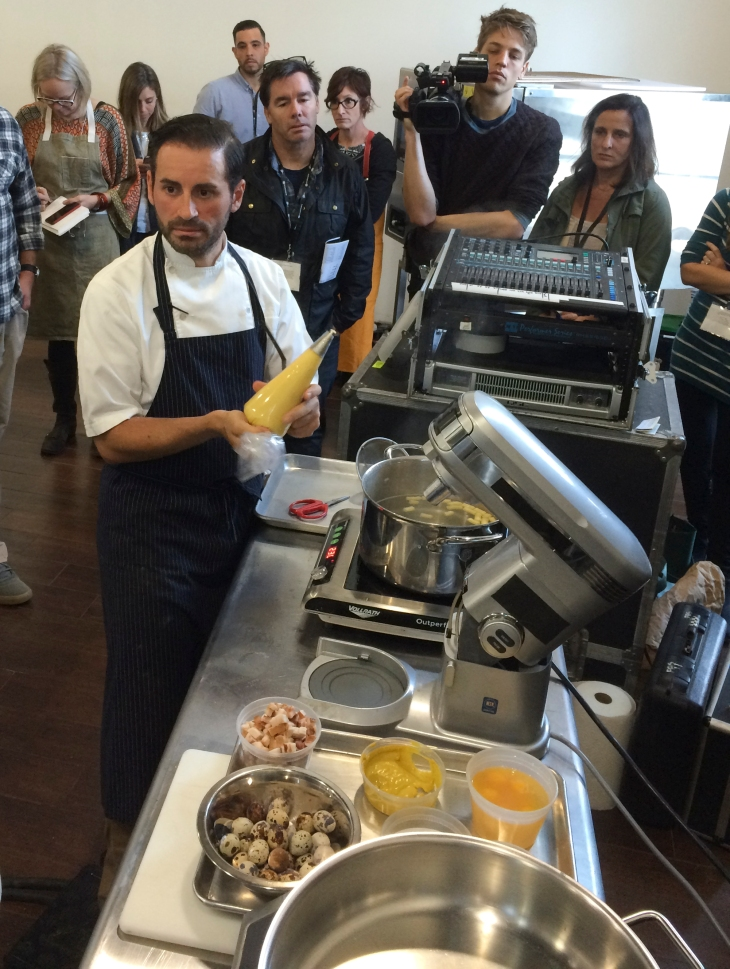 Chef Matt Accarrino at Starchefs ICC 2015