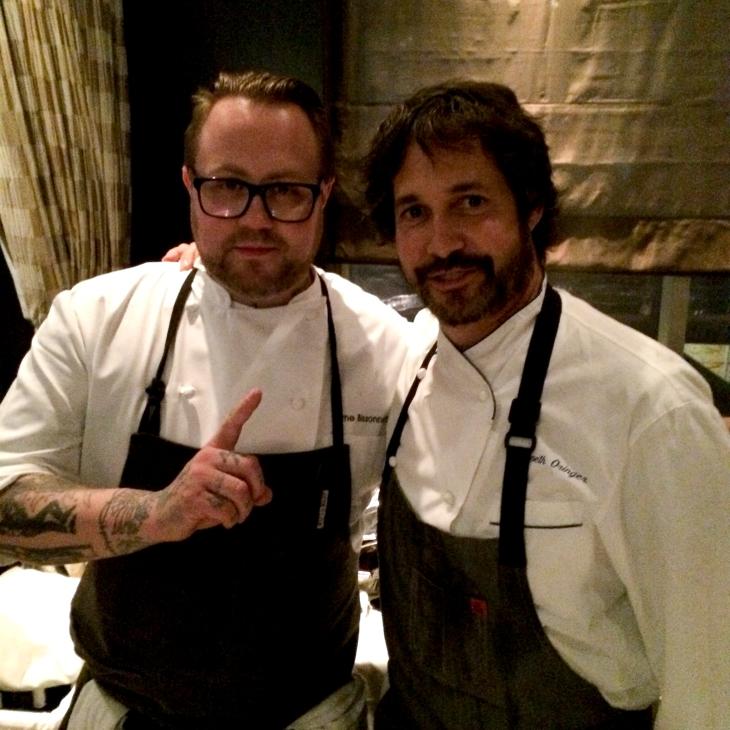 Chefs Jamie Bissonnette & Ken Oringer at Starchefs ICC 2015