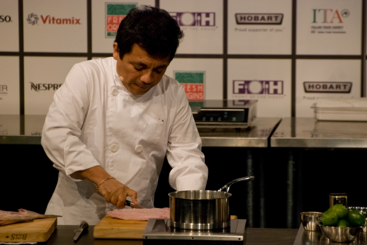 Chef Hector Solis at Starchefs ICC 2015