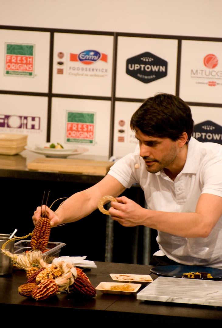 Chef Virgilio Martinez at Starchefs ICC 2015