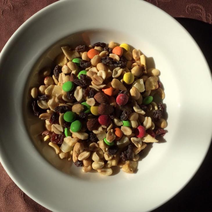 Dueling Trail Mix Mole