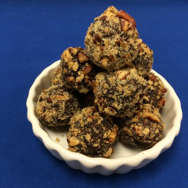 Oreo, Pecan & Scotch Truffles