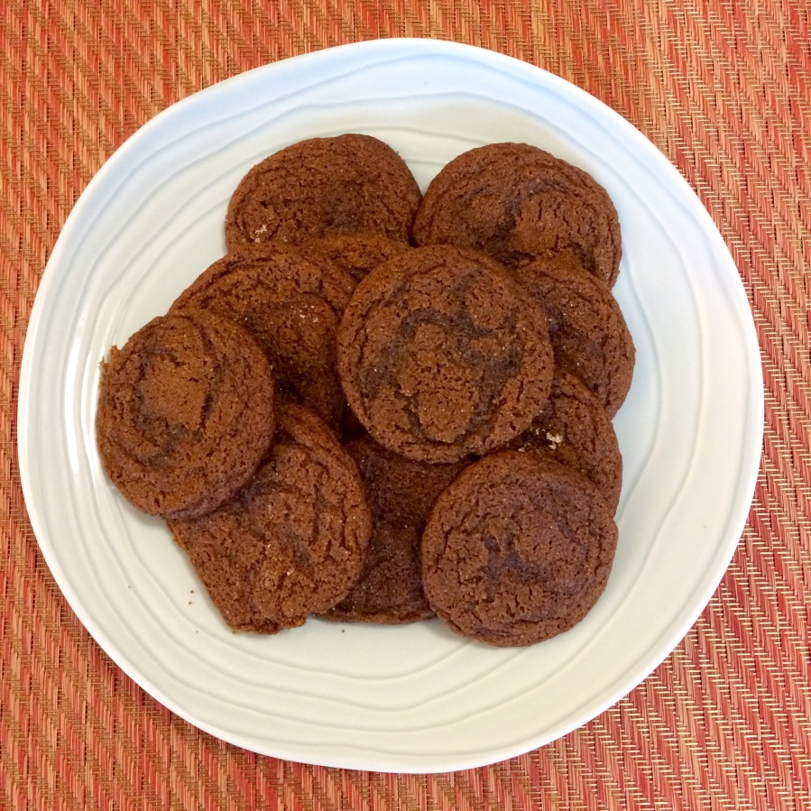 Gluten-Free Blackstrap Molasses Cookies