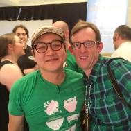With Winner Jonah Kim