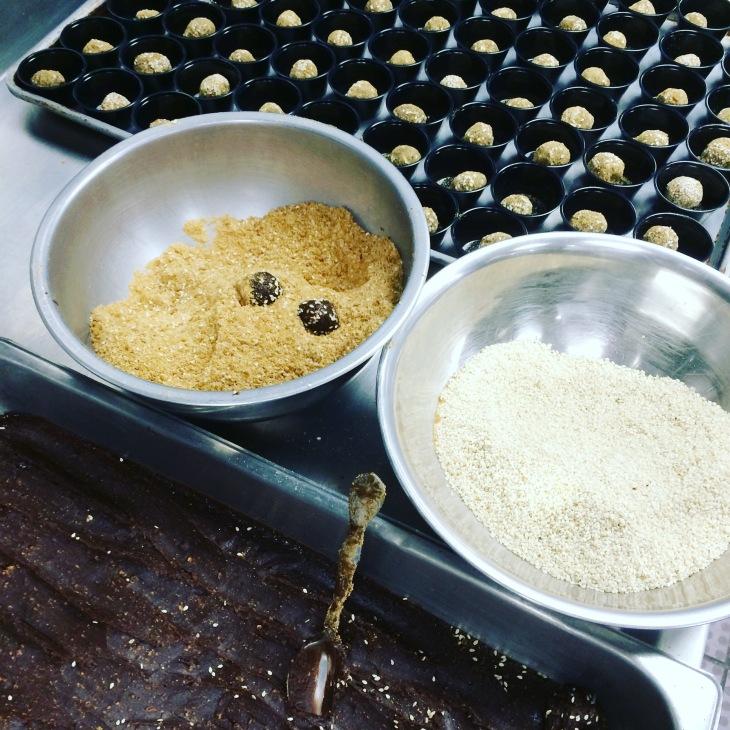 Sesame Ginger Chocolate Truffle Recipe
