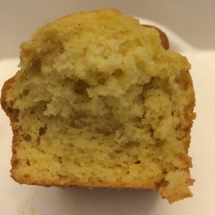 Corn Cake made from corn muffin mix