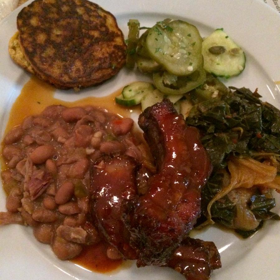 Fire, Flour & Fork Edward's Dinner atPasture