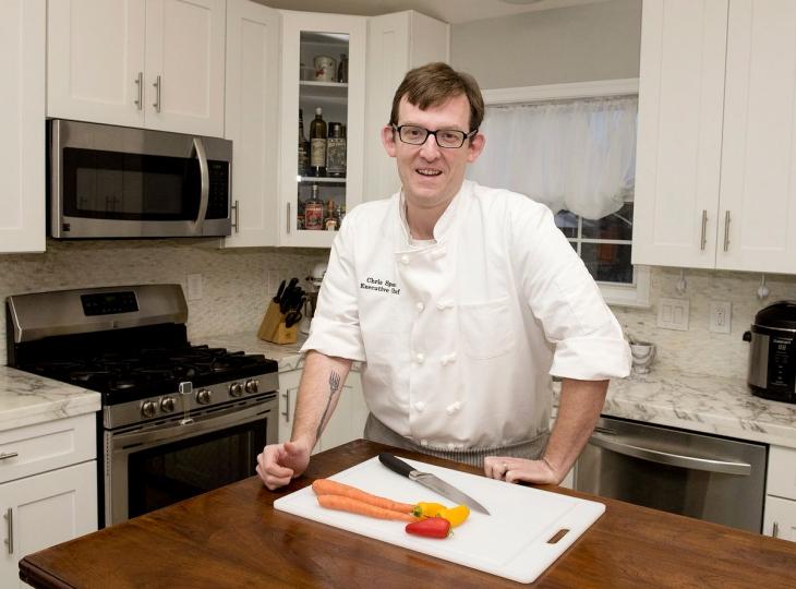 frederick maryland personal chef and caterer chris spear of perfect little bites