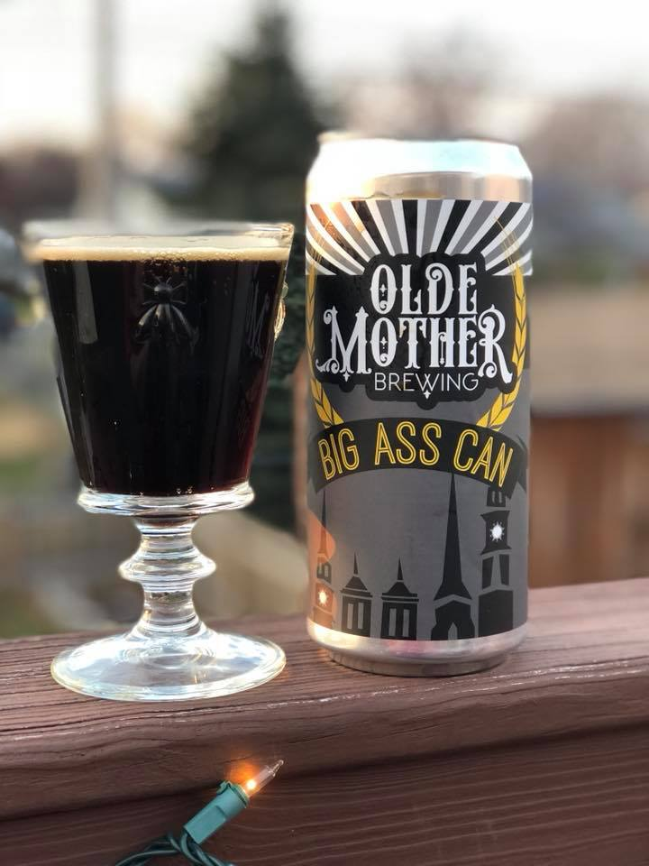oatmeal stout from olde mother brewing in frederick md