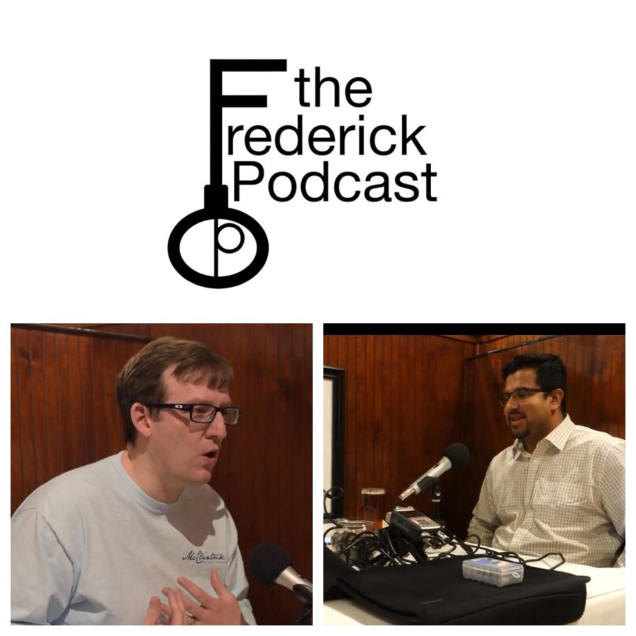 frederick maryland personal chef and caterer Chris spear of perfect little bites on the Frederick podcast