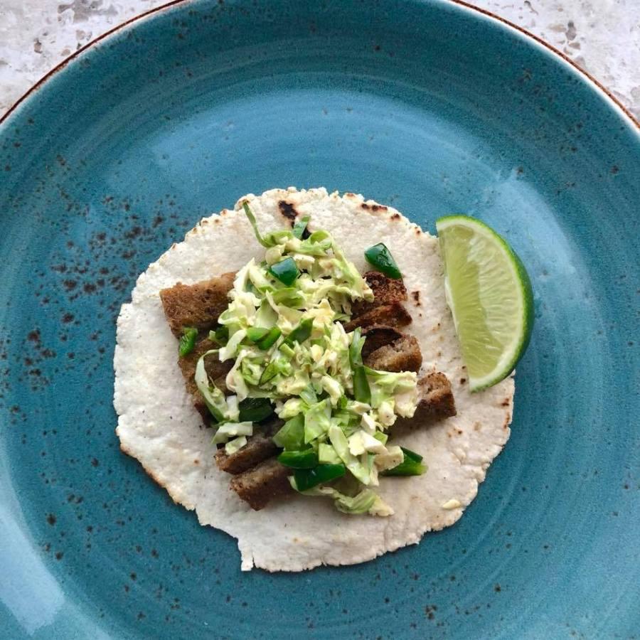 Scrapple Tacos
